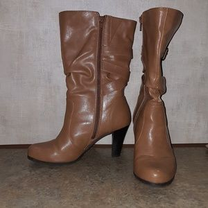 Shoes - Worn tan boots